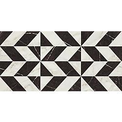 ART DECO NOIR 29.5*59.5 NEGRO 59.5x29.5 cm DECORCERAMICA Marmol