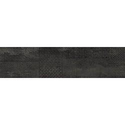 Struttura Metal Mix Dark Rettificato 120x30 cm Novabell Forge Metal