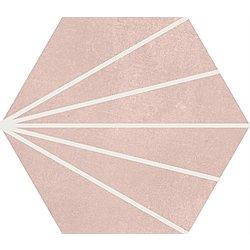 Sunny Rose Quartz 26x23 cm APE Cerámica Klen