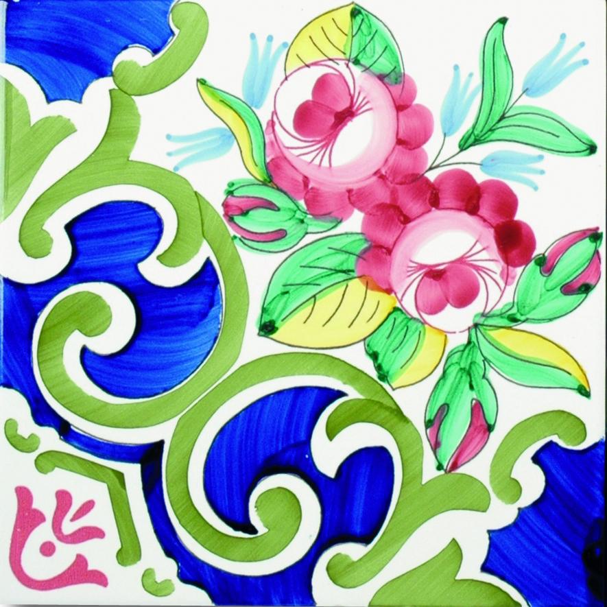 Roselline collezione tradizione di mavi ceramica tilelook for Seresi arredo bagno camerano an
