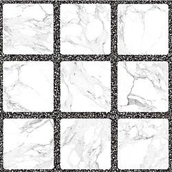 ตารางหินอ่อน ขาว 16X16 *B ตัดลอท (LT) 40x40 cm Boonthavorn Ceramic Sosuco