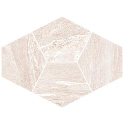 Mosaico Diamante Sabbia 39x28 cm Herberia Vals