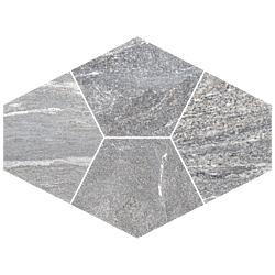 Mosaico Diamante Ghiacciao 39x28 cm Herberia Vals