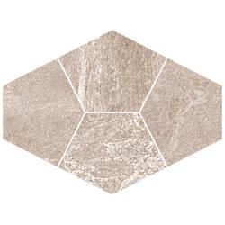 Mosaico Diamante Ruggine 39x28 cm Herberia Vals