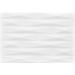 แฟซซิท กลอส (II) ขาว 8X12 *A 30x20 cm Boonthavorn Ceramic CottoBoon