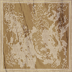 Solitaire Rosone Gold Visone 60x60 cm Brennero Ceramiche Venus