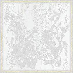 Solitaire Rosone Gold White 60x60 cm Brennero Ceramiche Venus