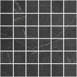 Mosaico 5X5 Soap Black  30x30 cm Cercom Cercom Soap Stone