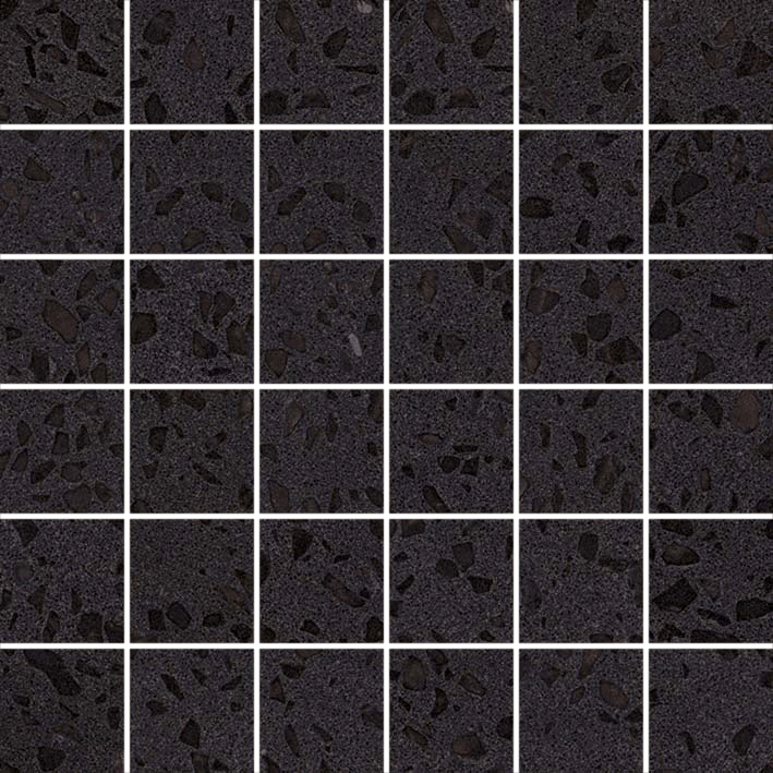 Marvel Terrazzo Black Mosaico Lappato Collection Marvel