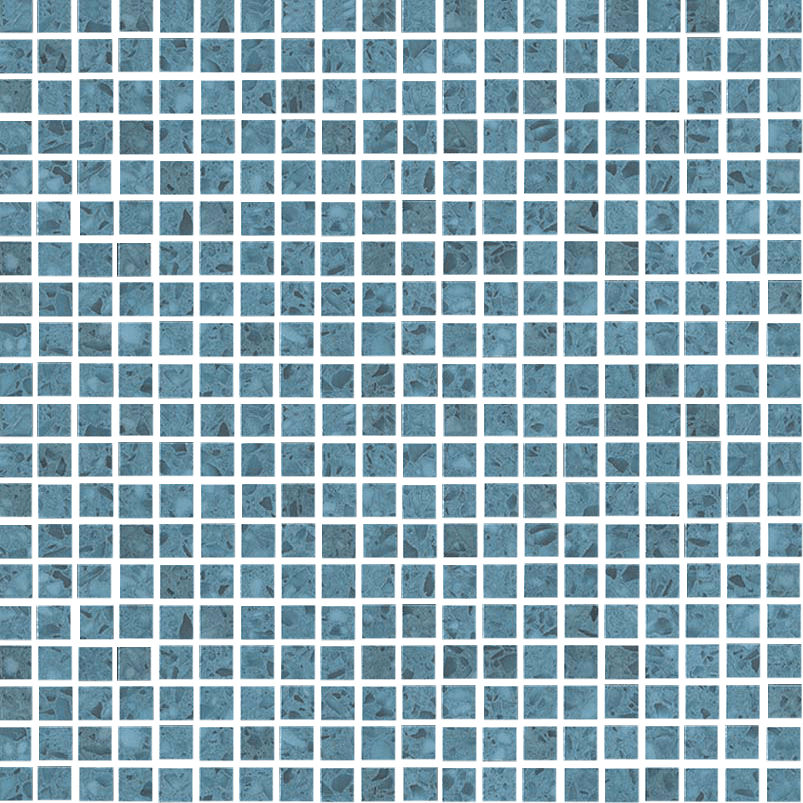 Marvel Terrazzo Blue Micromosaico - Collection Marvel Gems