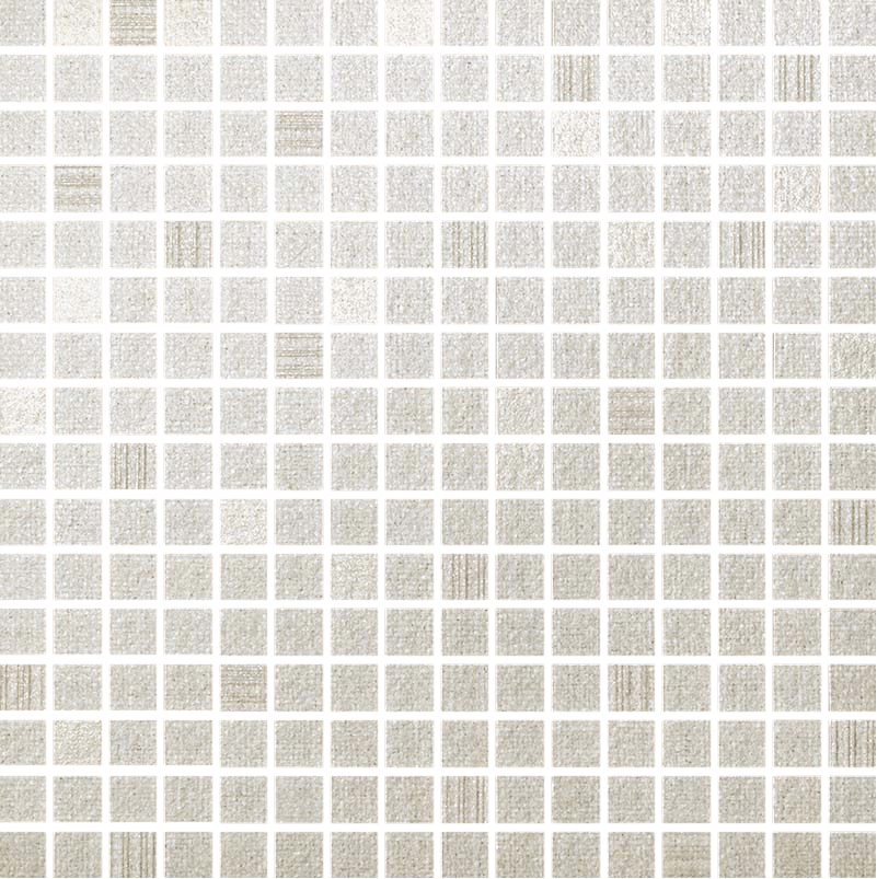 белая мозаика с белыми швами фото