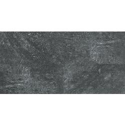 Carbon Black Brushed 120x60 cm Porcelaingres Mile Stone