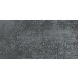 Carbon Black Step With Grooves Natural 60x30 cm Porcelaingres Mile Stone