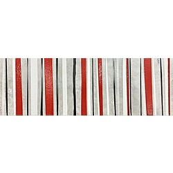 Amberes Decor Red 60x20 cm Cristacer Amberes