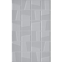 แมคกี้ เทาอ่อน 10X16 A 25x40 cm Boonthavorn Ceramic CottoBoon
