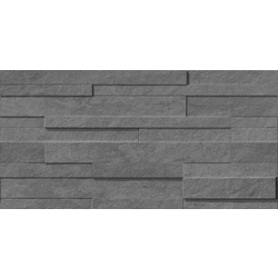 GRAY FLOW MURETTO 3D 60x30 cm Lea Ceramiche Waterfall