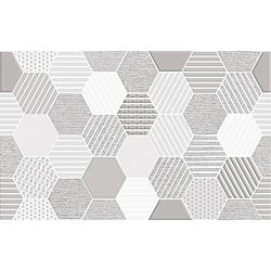 มูก้าเกรย์ 10X16 *A - (EXC.) 40x25 cm Boonthavorn Ceramic Duragres