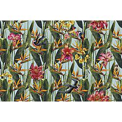 STERLIZIA  300x240 cm Inkiostro Bianco Jungle