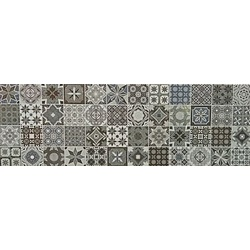 Decor 60x20 cm Floor Ceramic Turin Gris