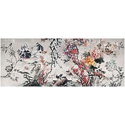 LEVANTE  300x240 cm Inkiostro Bianco Jungle