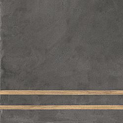 Sfrido 2 Lines Cemento4 Nero 60x60 cm Ceramica Fioranese Sfrido
