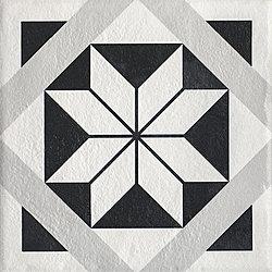 Modern Gres Szkl. Struktura Motyw F - 19.8x19.8 19,8x19,8 cm Ceramika Paradyż Modern