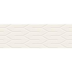 Nightwish Bianco Ściana B Struktura Rekt. - 75x25 75x25 cm Ceramika Paradyż Nightwish