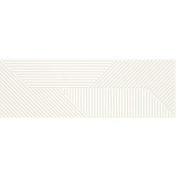 Woodskin Bianco Ściana B Struktura Rekt. - 89.8x29.8 89,8x29,8 cm Ceramika Paradyż Woodskin