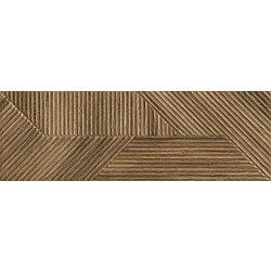 Woodskin Brown Ściana B Struktura Rekt. - 89.8x29.8 89,8x29,8 cm Ceramika Paradyż Woodskin