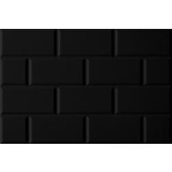 อิงลิช การ์เด้น ซาติน บริค ดำ 12X18 A 45x30 cm Boonthavorn Ceramic CottoBoon