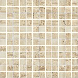 PRESTIGIO_MOSAICO_TRAVERTINO_MATT_30X30 30x30 cm Refin Prestigio