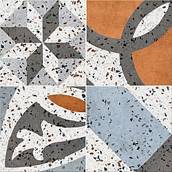 Cersanit Henley Flake Pattern 29,8x29,8 29,8x29,8 cm Cersanit Henley