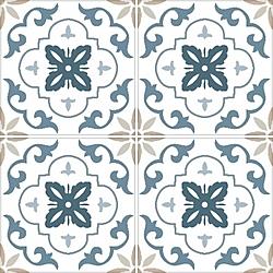 กานติมา น้ำเงิน 16X16 *A - (EXC.) 40x40 cm Boonthavorn Ceramic  DURAGRES
