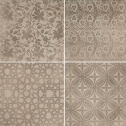Powder Decoro Liberty Caldo 75x75 cm Marazzi Powder