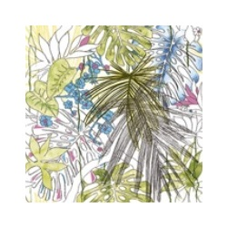Flora Equatoriale Aggressive  60x60 cm Ornamenta Jungle