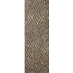 impression brown geomatrik wall tiles 25x75 cm Gemma Impression