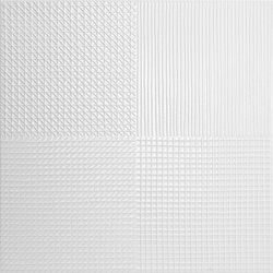 PATCHWORK_MIX_WHITE_GLOSS 40x40 cm Boonthavorn Ceramic CottoBoon