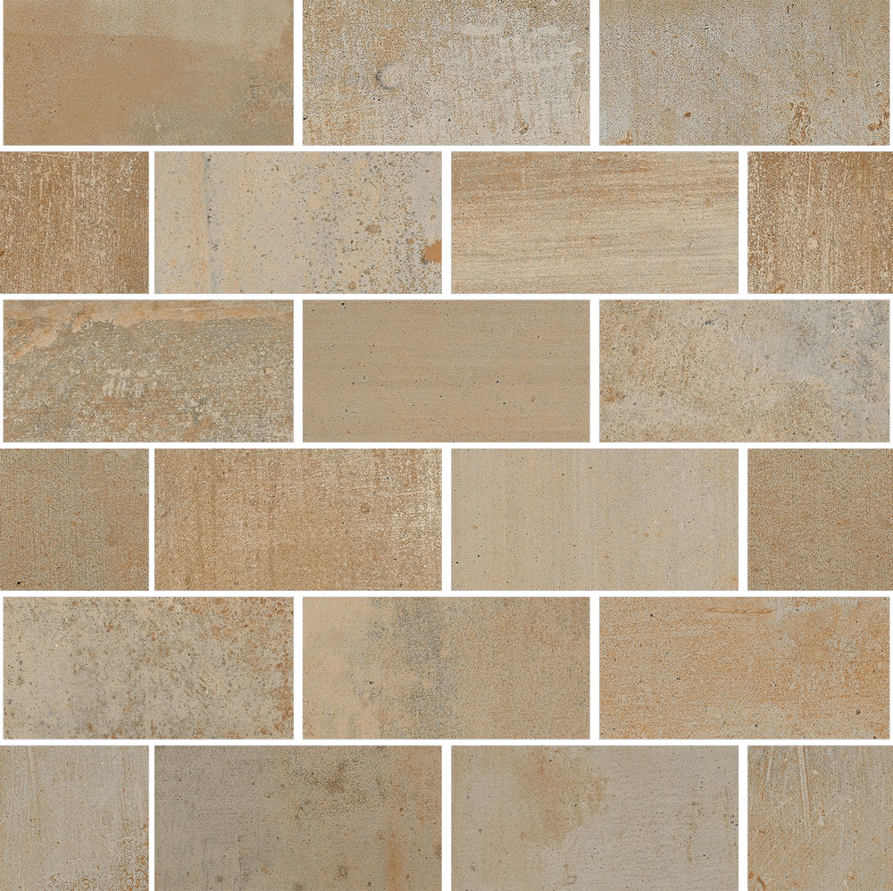 Malla Mureto Memory Cotto 35x30 Cm Roca Tiles
