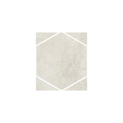Clays Cotton Hexagone 18,2x21 cm Marazzi Clays
