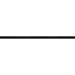 LISTELLO GLITTER NERO 60x2 cm Vallelunga Rococò