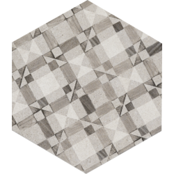 Clays Esagona Decoro Cotton Lava 18,2x21 cm Marazzi Clays