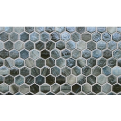 Pisa Pearl Hexagon 31x17,5 cm Lunada Bay Tile Agate