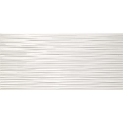 3D Ultra Blade White Gloss 110 110x50 cm Atlas Concorde 3D Wall Design