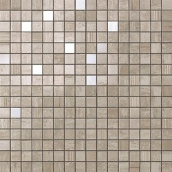 Marvel  Travertino Silver Mosaic 30,5x30,5 cm Atlas Concorde Marvel Pro