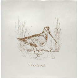 Woodcock Sepia On Papyrus 13x13 cm The Winchester Tile Company Residence