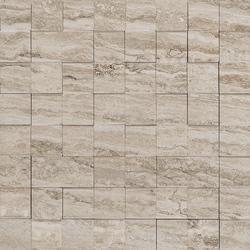Allmarble Travertino Mosaico 3D 29x29 cm Marazzi Allmarble
