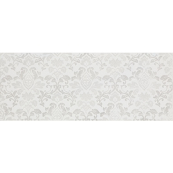 Shine Decoro White Damasco 50x20 cm Marazzi Shine