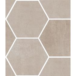 Area Beige Mosaico Esagona T3 44x51 cm Ceramica Euro Area