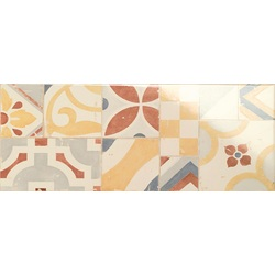 Decoro Mandala Cream 50x20 cm Marazzi Cloud