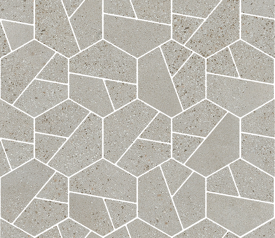 Hydro Exa Cenere - Collection I Cocci by Ceramica Fioranese | Tilelook